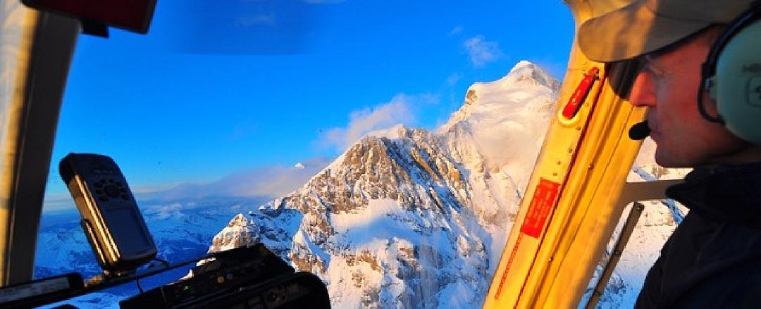 Peter Weber am Jungfraujoch