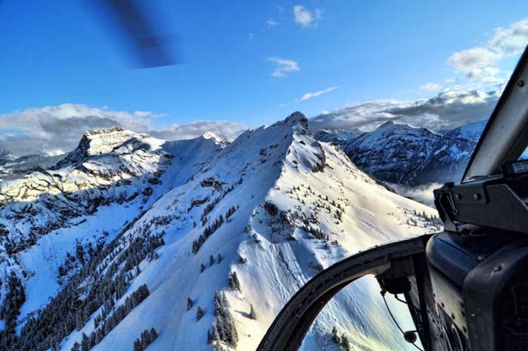 120 Minuten Helikopterflug mit Heli-Breisgau