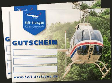 Heli-Breisgau Rundfluggutscheine