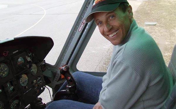 Peter Weber Pilot bei Heli-Breisgau