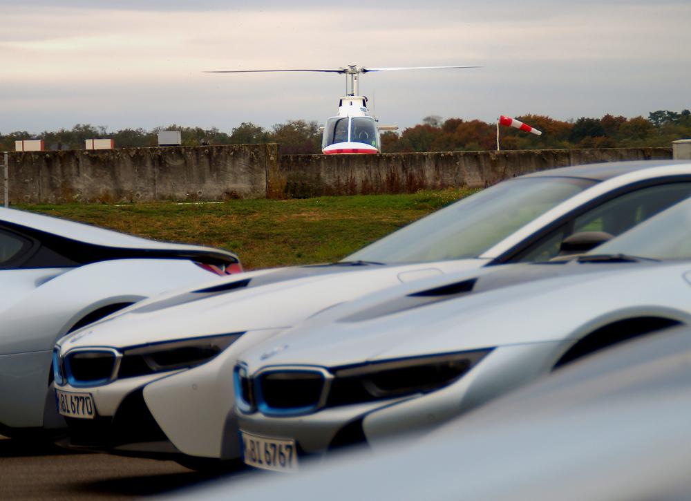 Heli-Breisgau beim BMW 7er Event