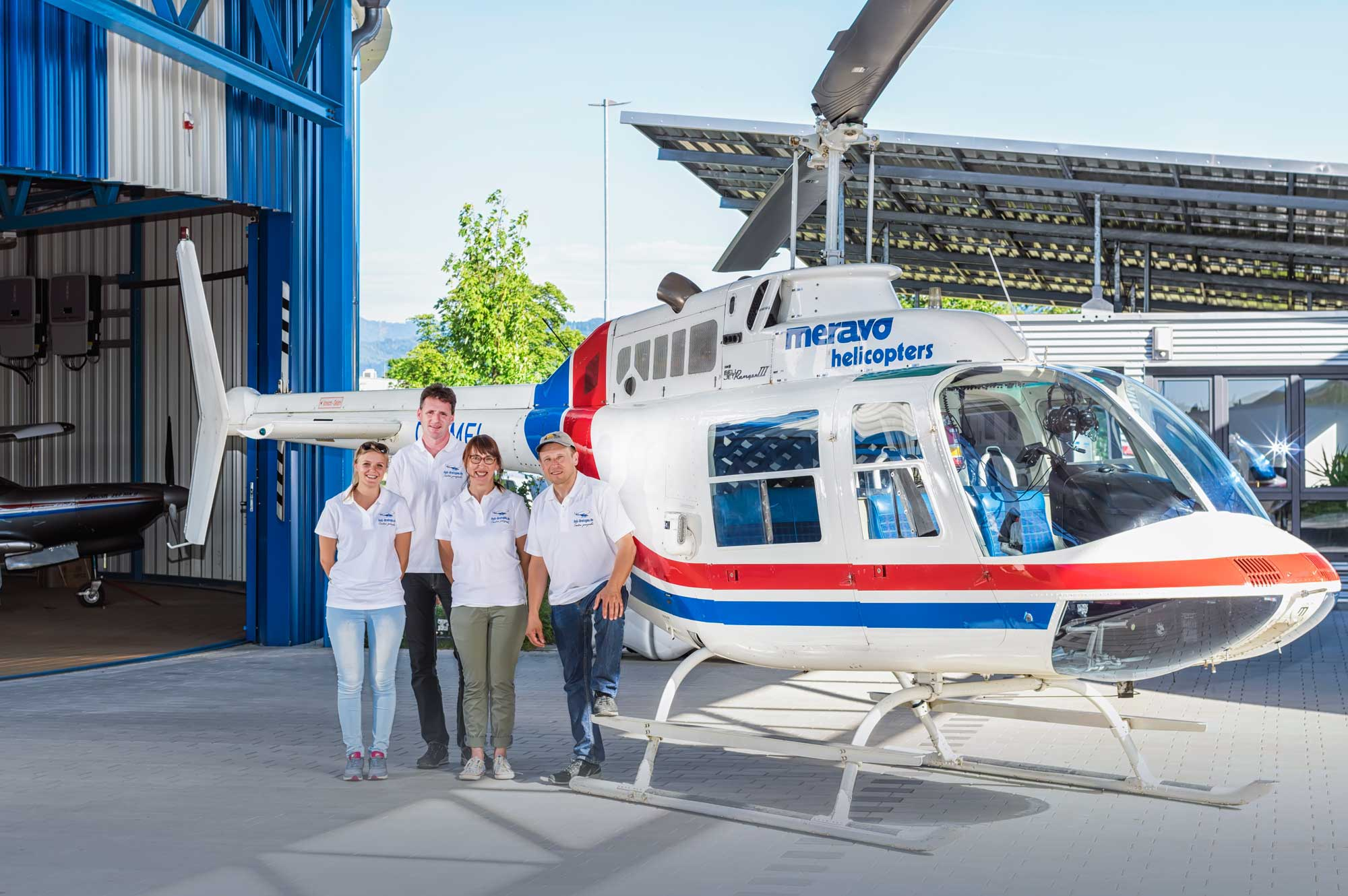 Heli-Breisgau Crew-Mitglieder