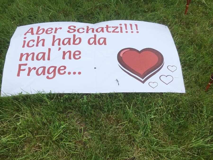Herr Ritters Hochzeitsantrag